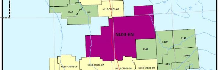C-NLOPB Identifies Eastern Newfoundland Region Sector